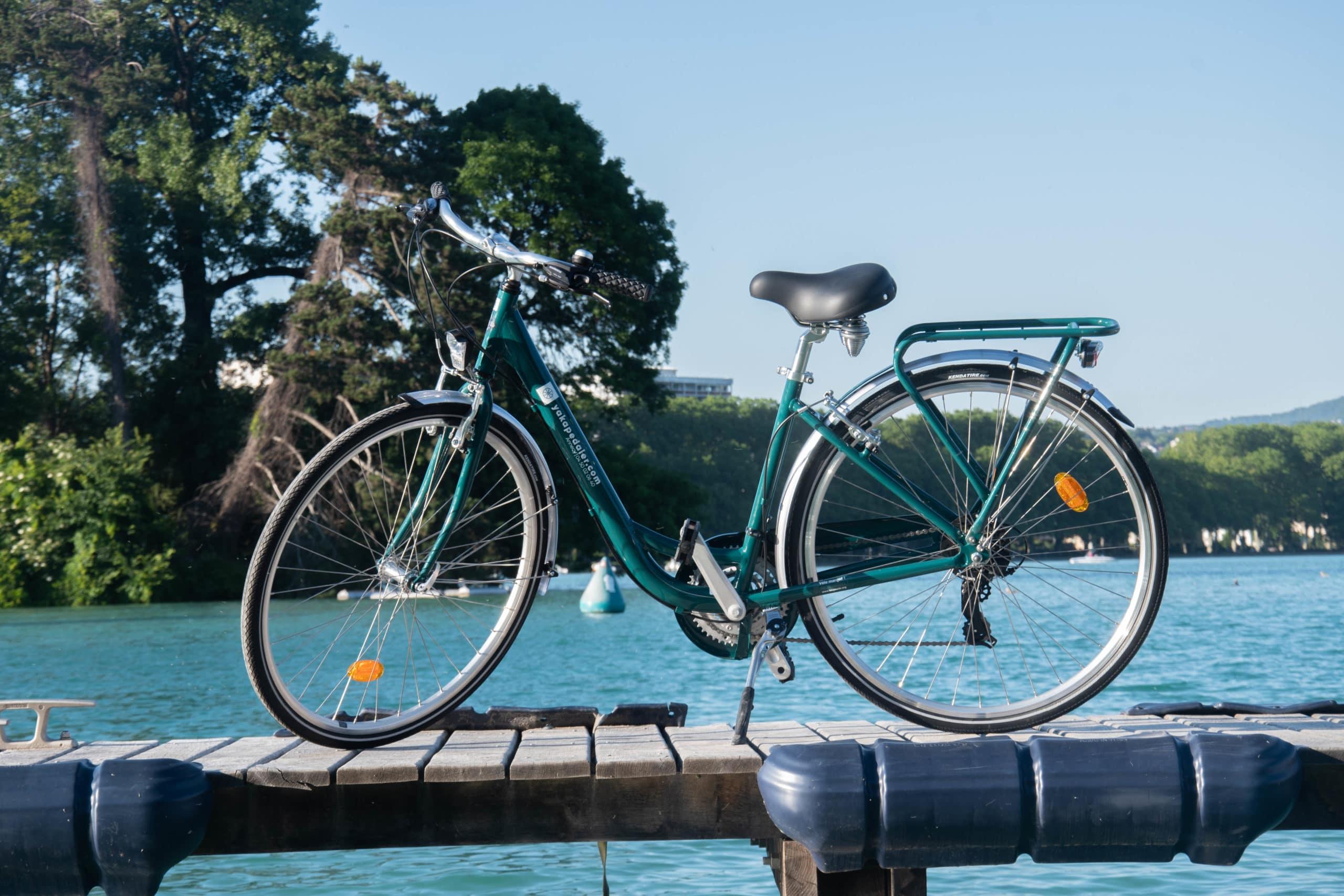 Un vélo de ville yakapedaler