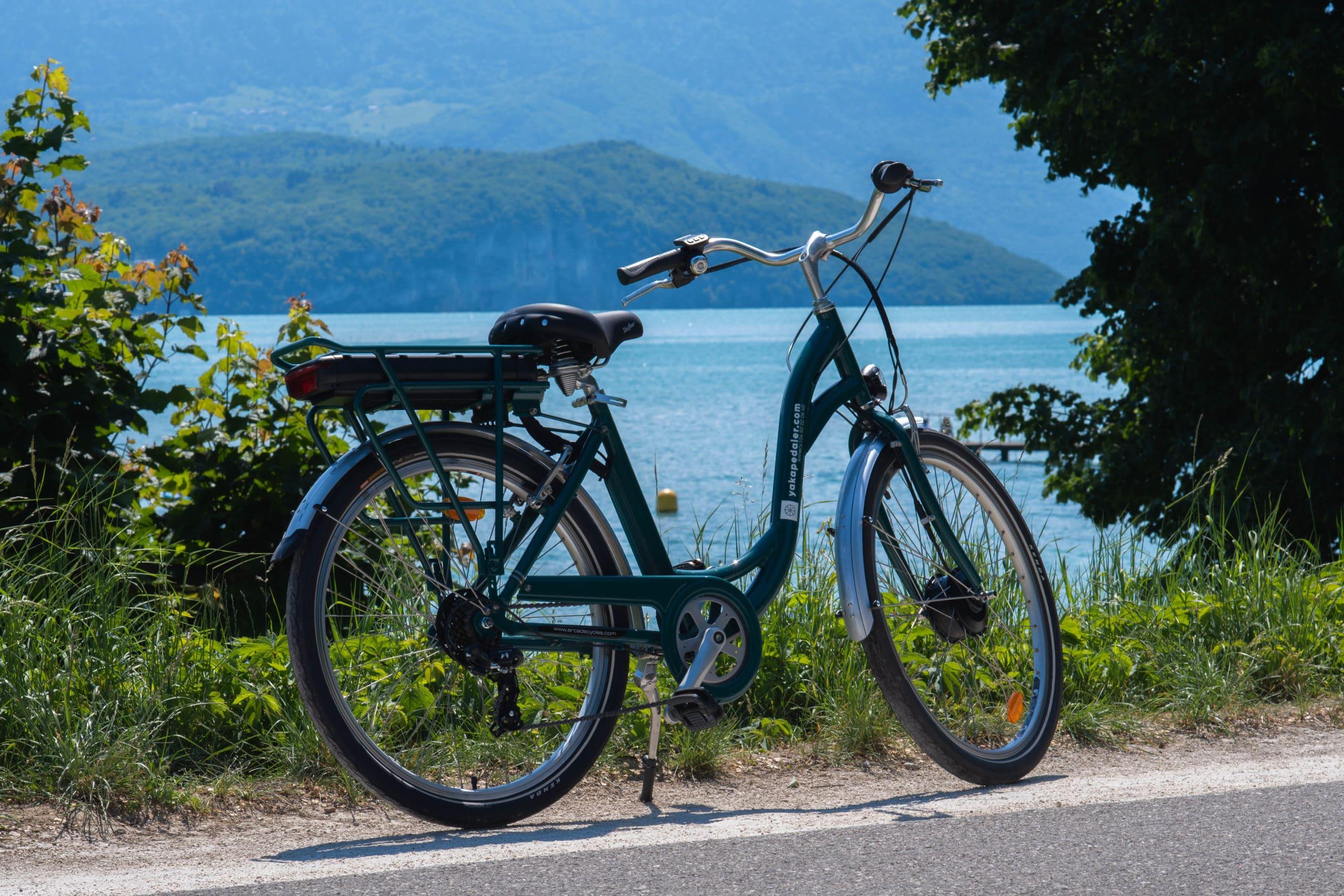 Un vélos électrique louable