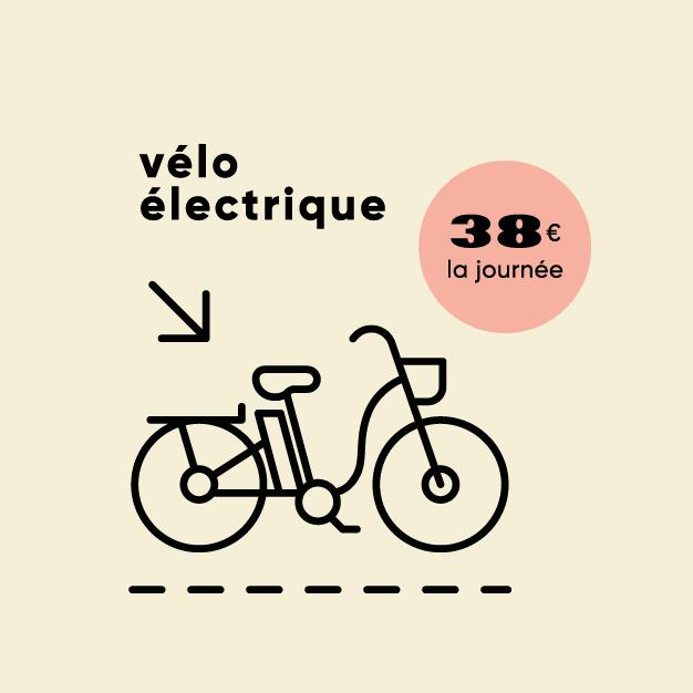 illustration d'un vélo électrique